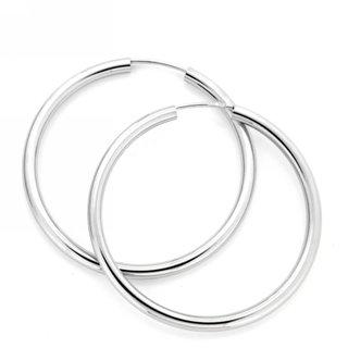Drahtcreolen, Silber 925, poliert - Juwelier Junghähnel