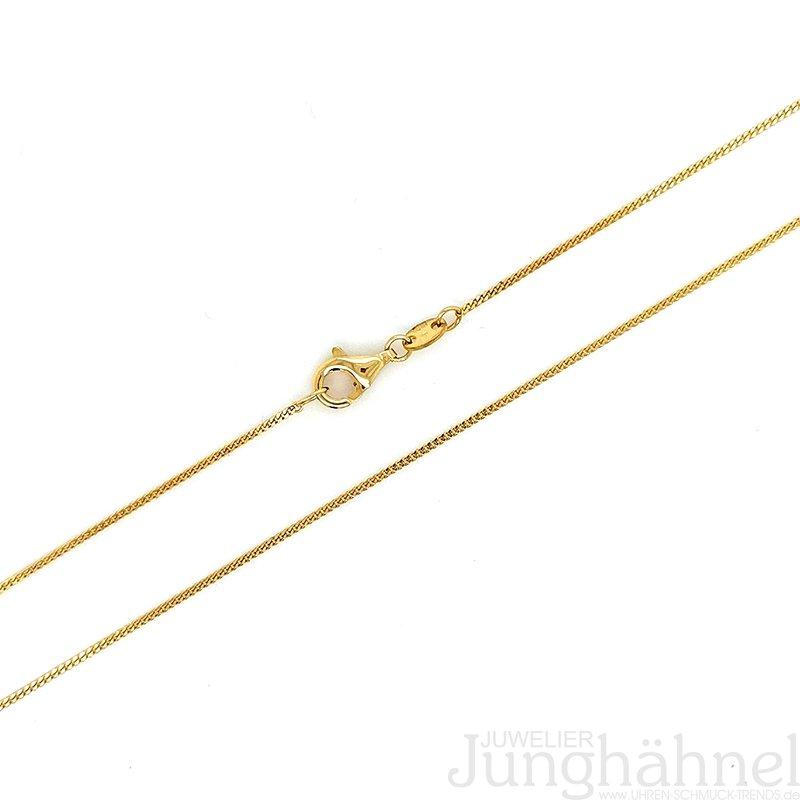 Gelbgold Neu Juwelier Flach Panzer Kette Stärke 1,7 mm aus Echt Gold 333 8 Kt